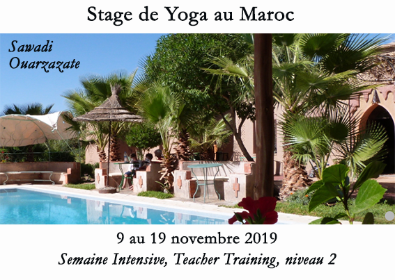 Osmose Yoga Paris - Teacher Training, niveau 2