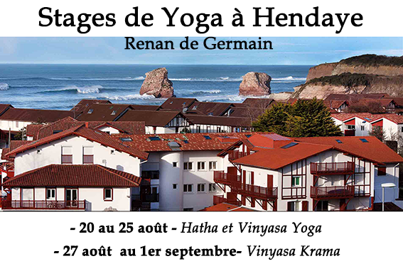 Stage de Yoga Hendaye - Osmose Yoga Paris