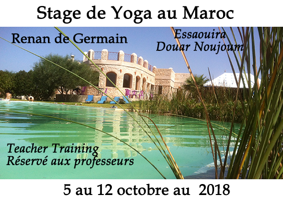 Stage de Yoga au Maroc - Osmose Yoga Paris